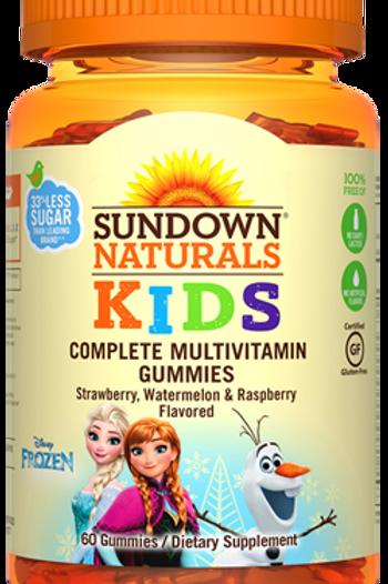 Sundown Disney's Frozen Multivitamin Gummies 60ct