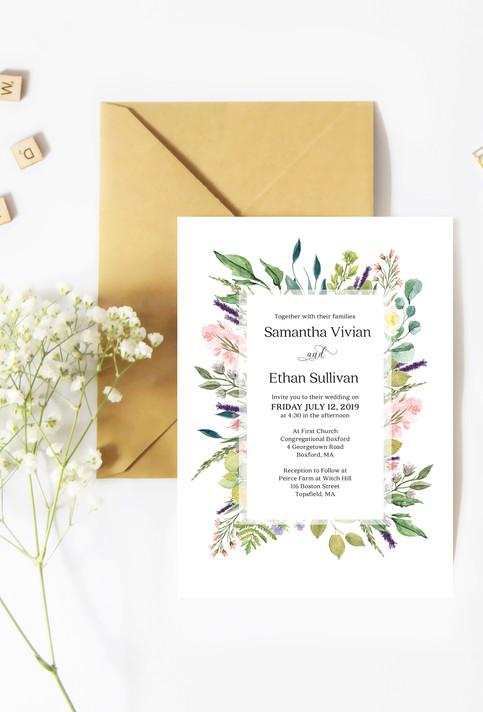 Weeding Invite