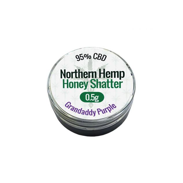 CBD Norther Hemp - Honey Shatter 0.5g Gr
