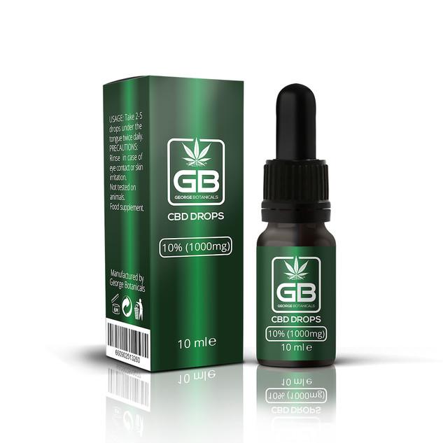 George Botanicals 10% CBD Oil