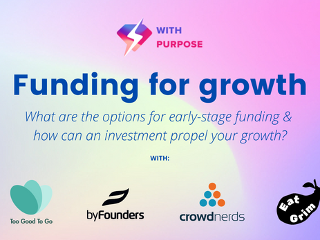 Funding for growth - join us for an informal discussion