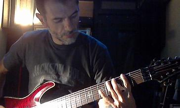 Boundary Exception - guitar recording