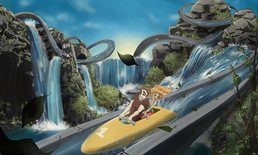 Peter Hamer - Water Ride Express (original game soundtrack)