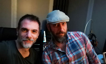 Peter Hamer and Ste SirBone Raggi