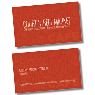Courtstreet Market Cards
