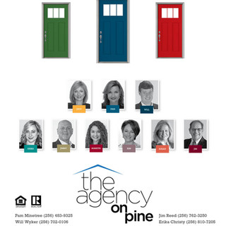 The Agency on Pine Display Ad