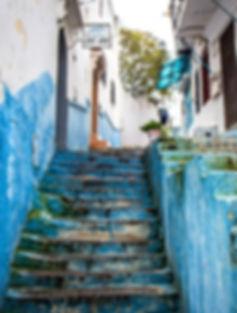 Street in Tangier, Morocco.