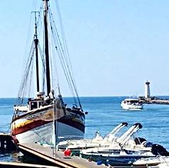Sail at dock
