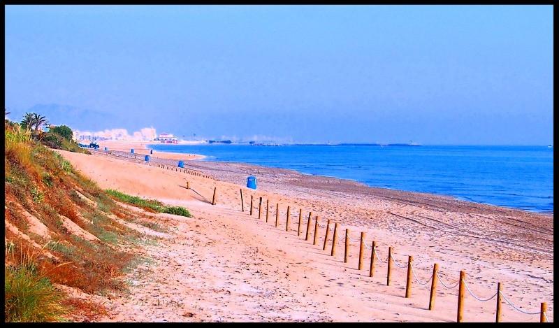 Oliva Beach, Spain