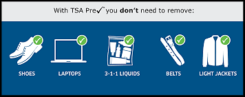 Keep moving. TSA Pre✓® saves you time and stress.