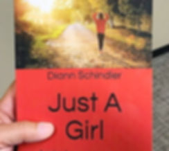 """Just A Girl"" book cover"