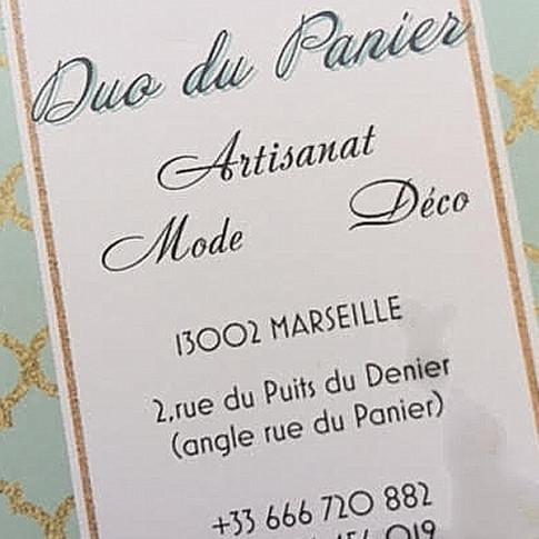Duo du Panier Card