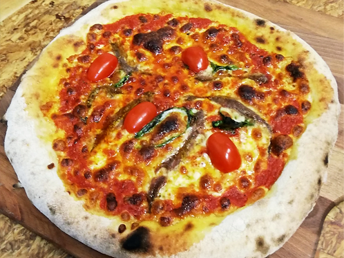 Pizza Margarita Ansjovis