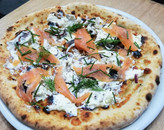 Pizza Smoked Salmon