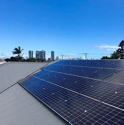 Trina Solar Panel Installation Rooftop Gold Coast