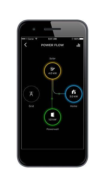 Tesla Powerwall App manage energy in real time