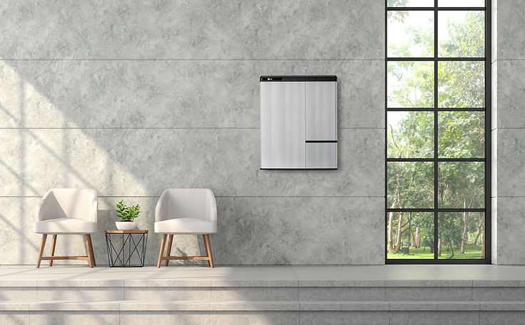 LG Chem Resu Battery Home Solar Installation