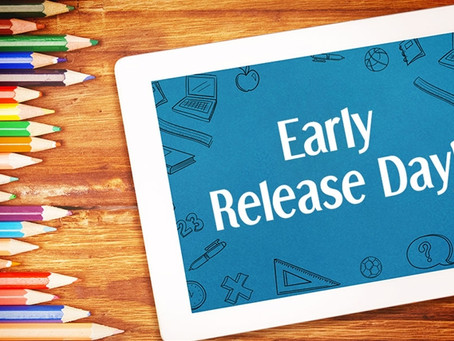 Early Release for Students - Wednesday, February 28, 2018