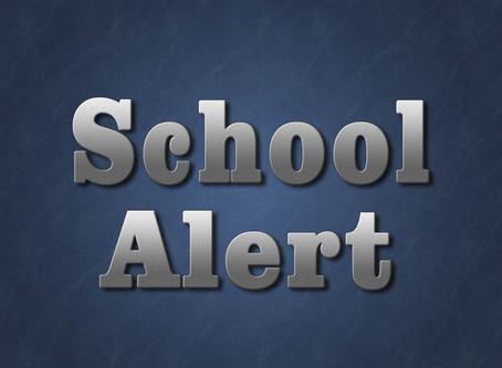 School Alerts (Update 03/30/20)