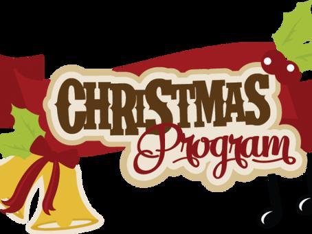 Annual Christmas Program