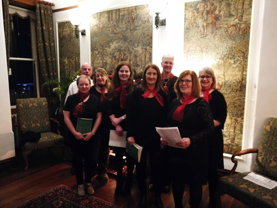 Choir at Ardtara Country House Hotel - 2018