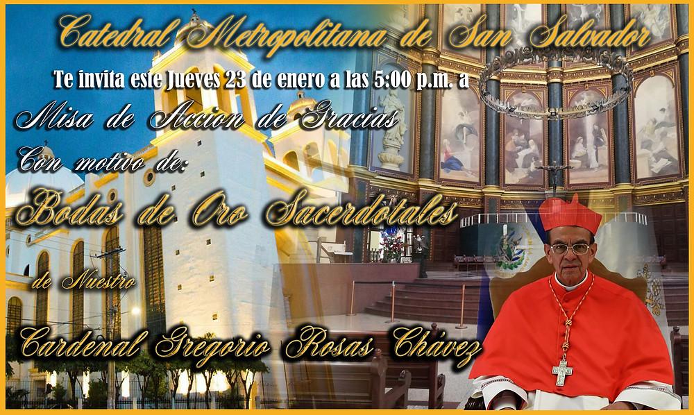Invitacion Misa de Acción de Gracias