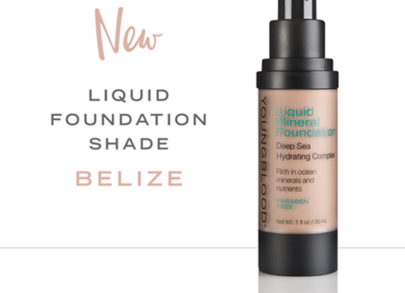 Liquid Mineral Foundation Deep sea Hydrating Complex---Beliz