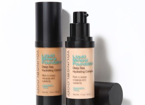Liquid Mineral Foundation--- SunTan