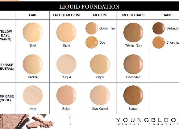 Liquid Mineral Foundation Deep sea Hydrating Complex---Tahitian