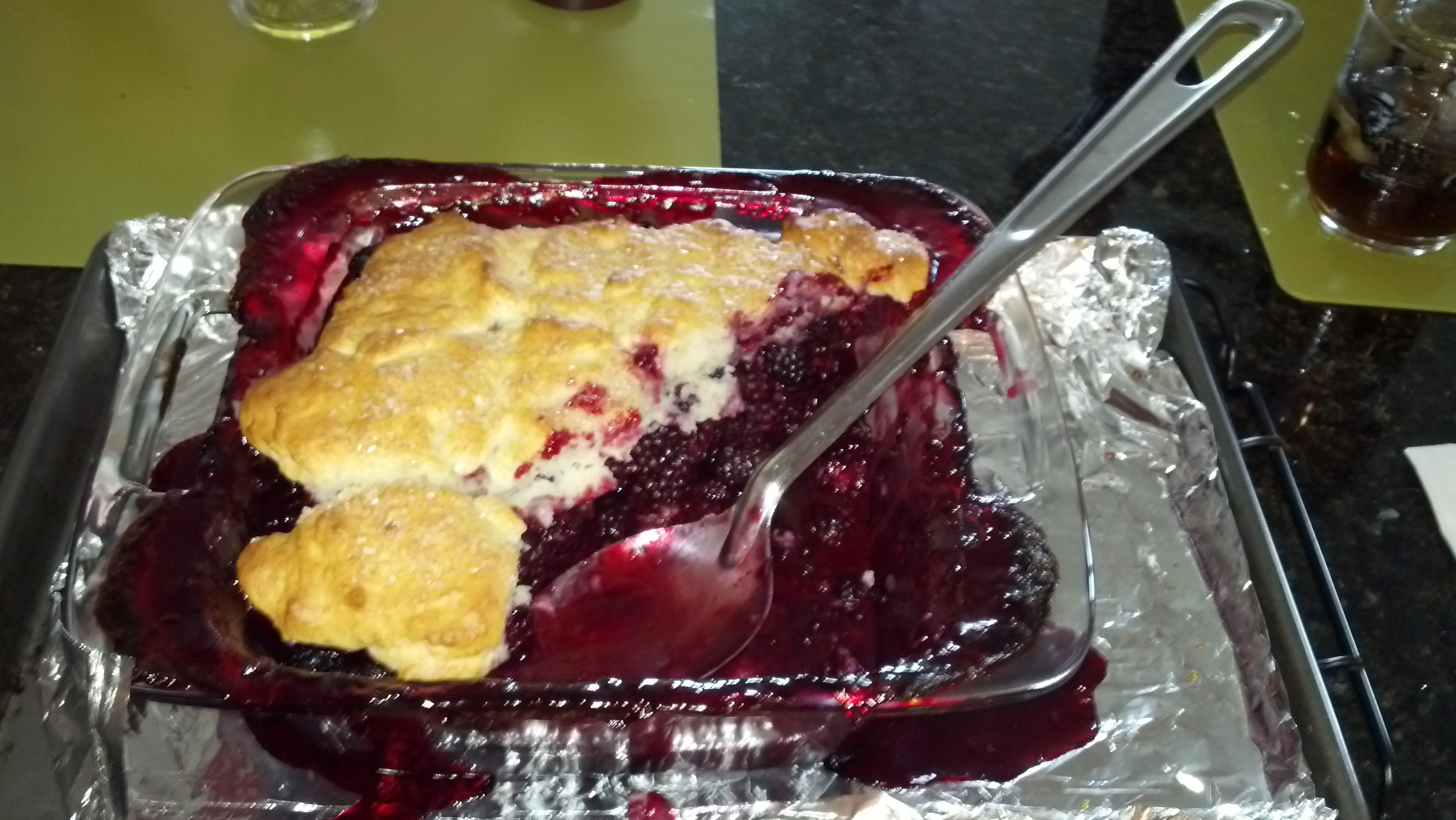 2015_06_13_berries into cobbler by LMVB