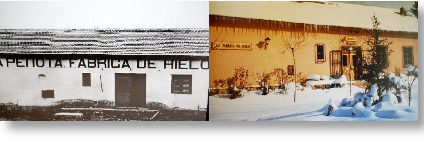 Una antigua Fábrica de hielo