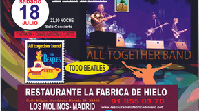 "Cena-Concierto ""All Together Band"""