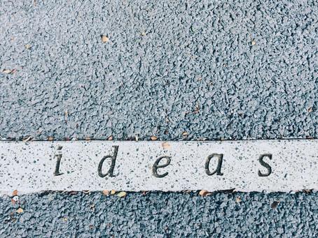 Tìm ý tưởng viết ở đâu