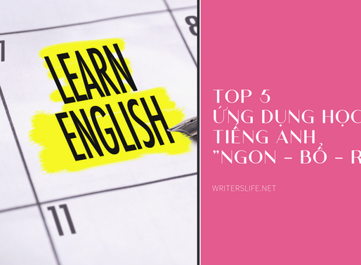 "Top 5 apps học tiếng Anh ""ngon bổ rẻ"""