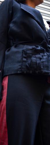 Shawl Collar Jacket Detail