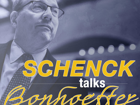 Schenck Talks Bonhoeffer: Interview with Helio Fred Garcia