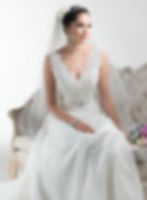 Maggie Sottero Debra wedding dress in Brides-2-B wedding shop in watford