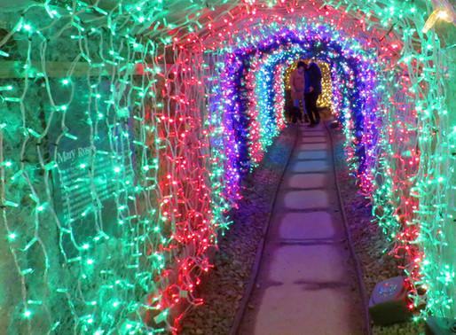 Europe's longest light tunnel