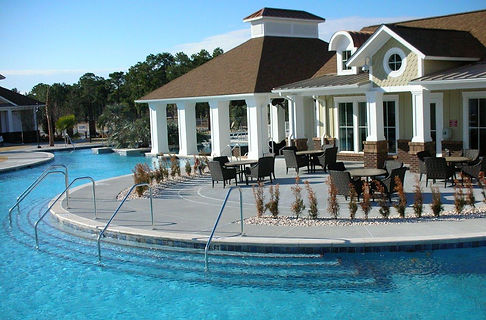 residential pool, clubhouse