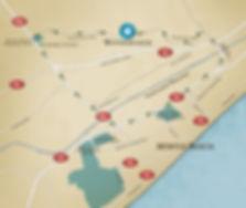waterbridge, location map