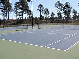 waterbridge, myrtle beach, tennis court