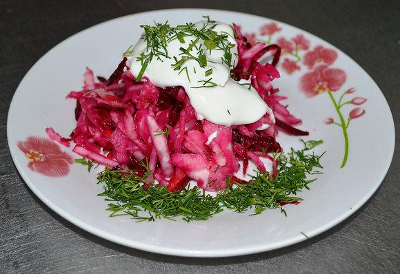 Салат из капусты закусочный