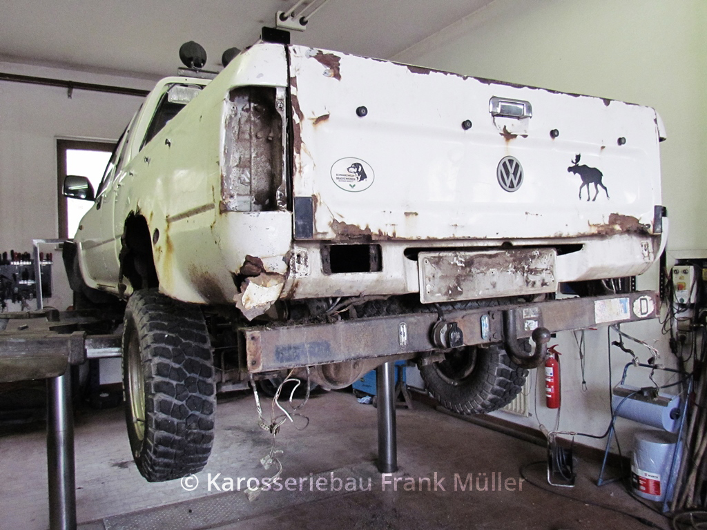 VW Taro Pritsche Rostschaden
