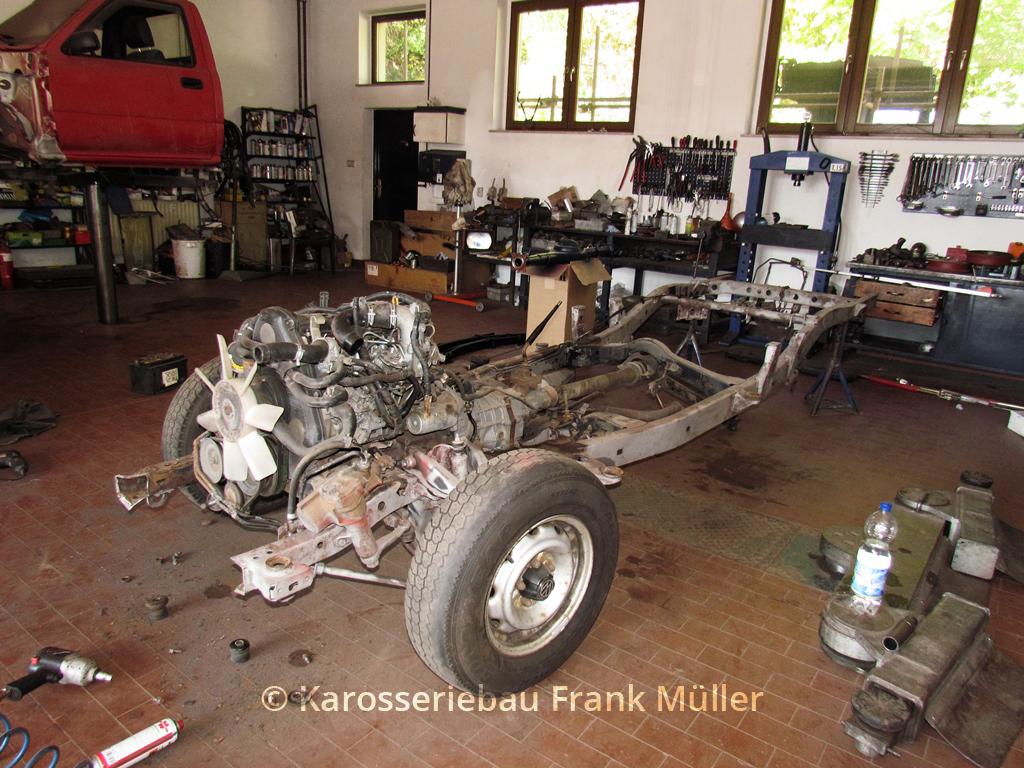 VW Taro - altes Fahrgestell