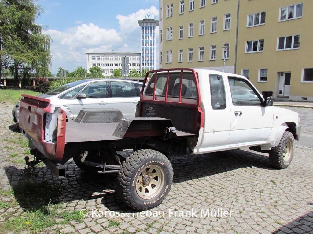 VW Taro neuer Boden