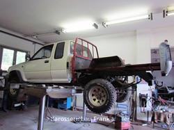 VW Taro mit neuem Boden