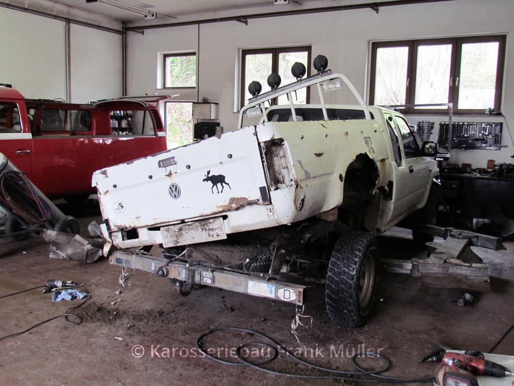 VW Taro Pritsche Trennung vom Rahmen