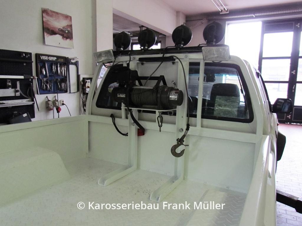 VW Taro mit neuem Feature: Seilwinde