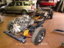 VW Taro - neues Fahrgestell & Motor