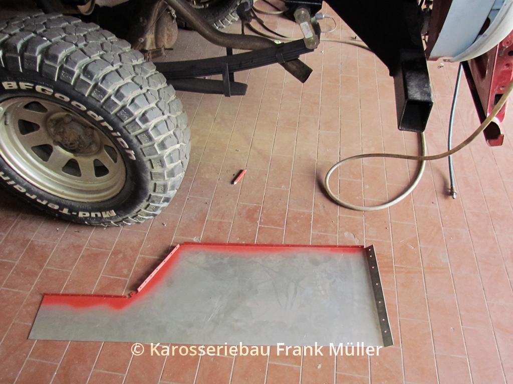 VW Taro Teileanfertigung
